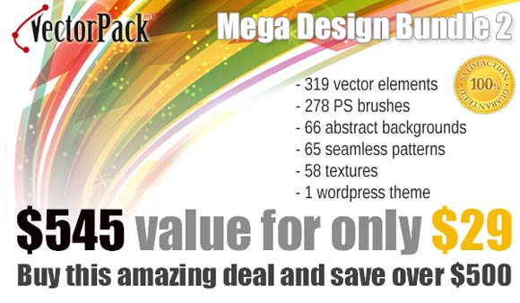 vectorpack.net offering great deal on vector products