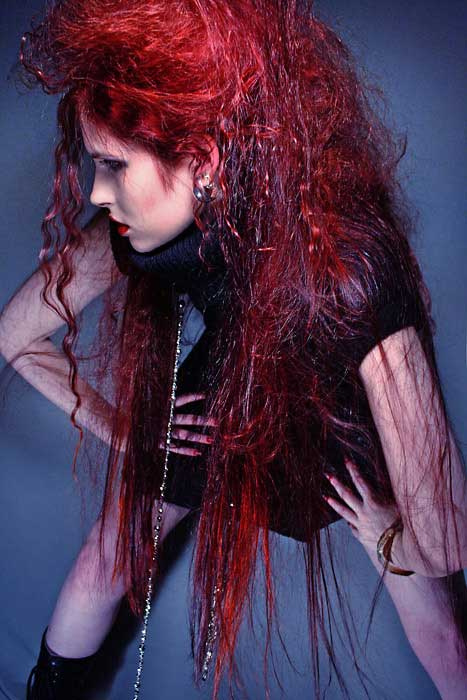 Red hair female Photography