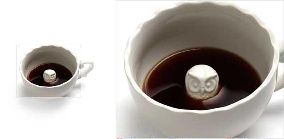 Beau-tea-ful Surprise Mug in Owl