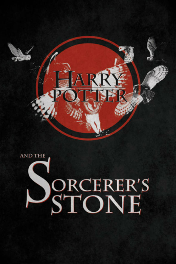 Reworked Harry Potter Book Covers