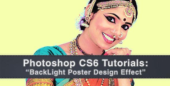 Photoshop CS6 Tutorial : BackLight Poster Design Effect
