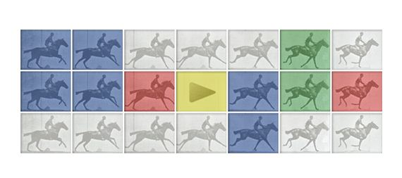 Today's Google Doodle: Eadweard Muybridge (photographer)