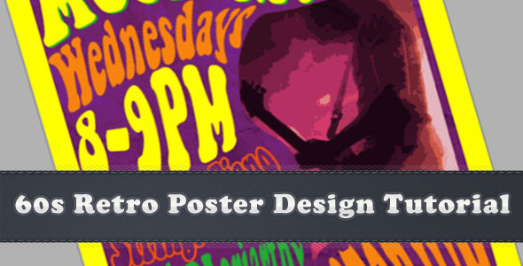 Photoshop Design Tutorial: 60's Retro Poster Style