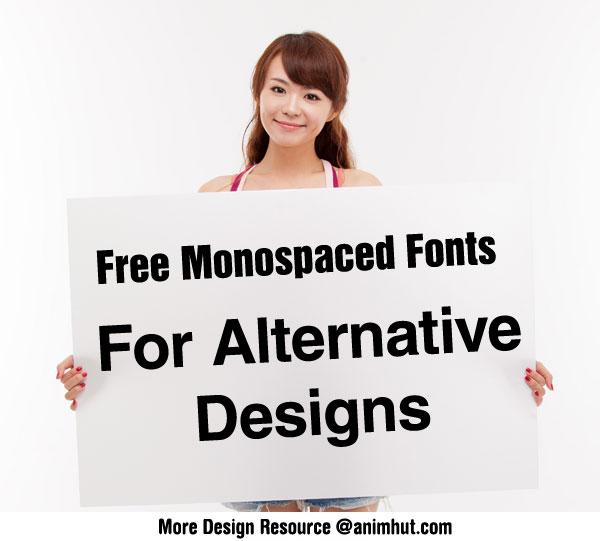 Download Monospace Free Commercial Fonts