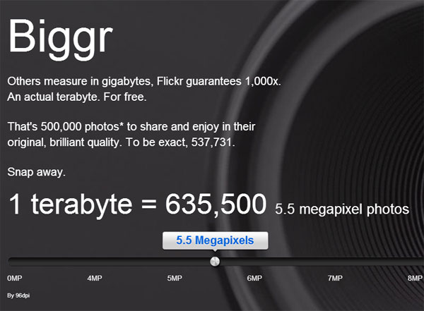 New Flickr 2013 Homepage