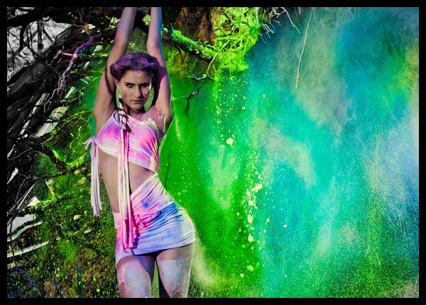 Colorful Hoil Project with Hot Models