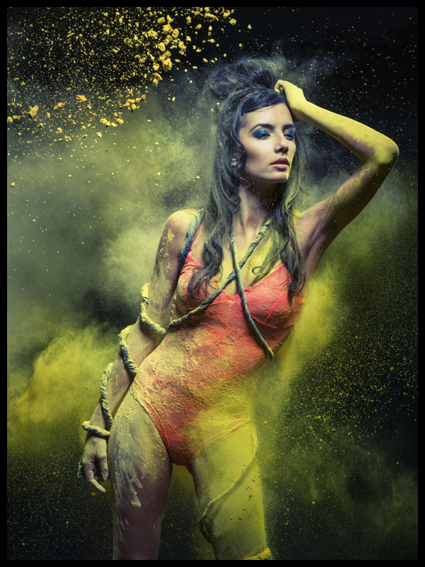 for Holi Festival - Hot Models