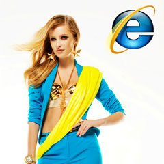 The Fashion Story – Internet Browsers as Fashion Girls