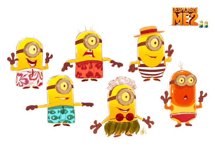 Works of Despicable Me 2