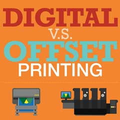 Truth of Offset Printing Vs Digital Printing [Infographic]