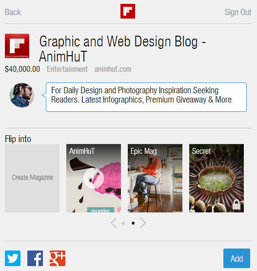 How to Shop or Sell Your Products on Flipboard using New Bookmarklet