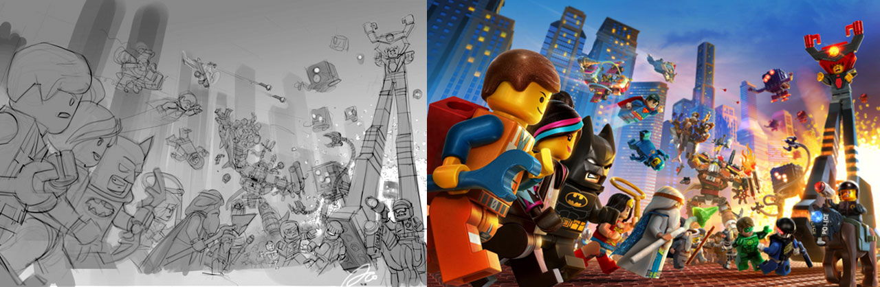 Making of LEGO Movie Video Game