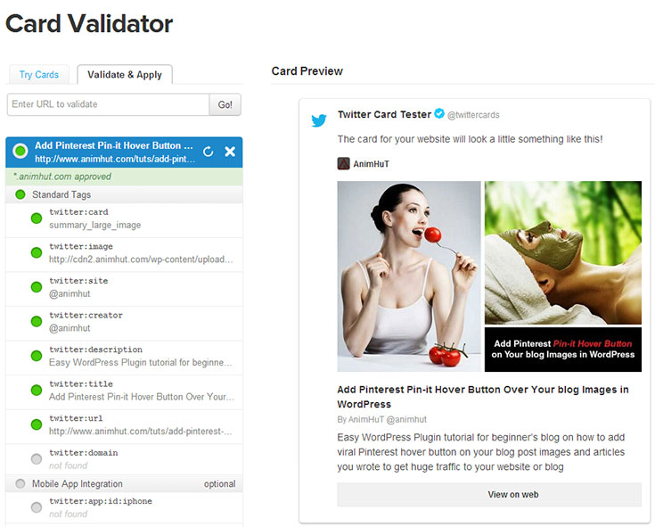 Get Twitter Card Approval Easily