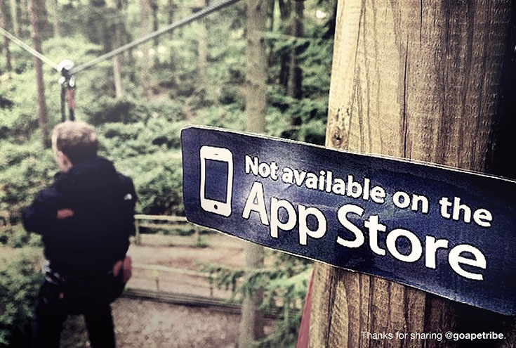 Extraordinary things are not available in apple app store (1)