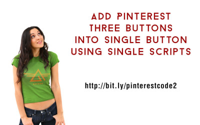 [How to]  Using Single Script to Add Pinterest Hover Button, Vote Button and Bookmark All the Images