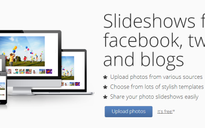 Top 5 Tools to Create Slideshows with Your Holiday Photos