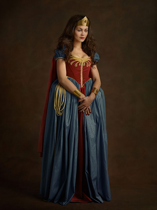 Flemish Paintings of Wonder Woman
