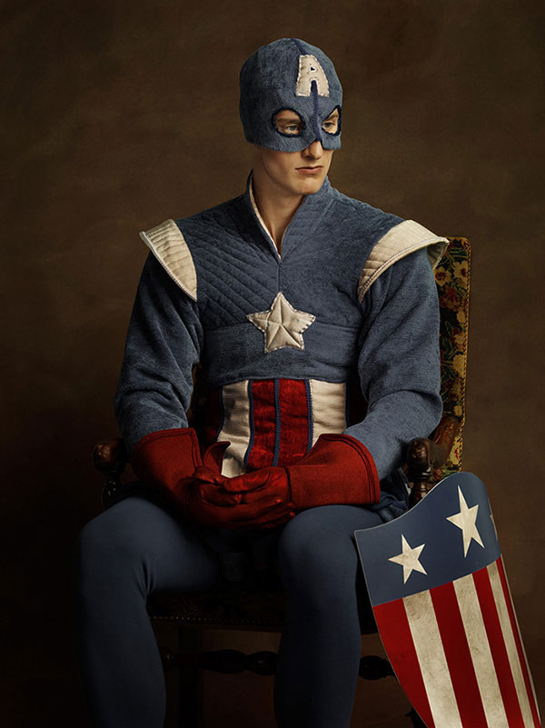Captain America's Flemish Paintings
