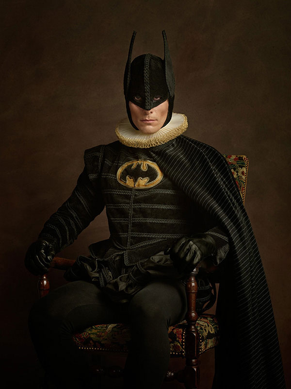 Flemish paintings of  Batman