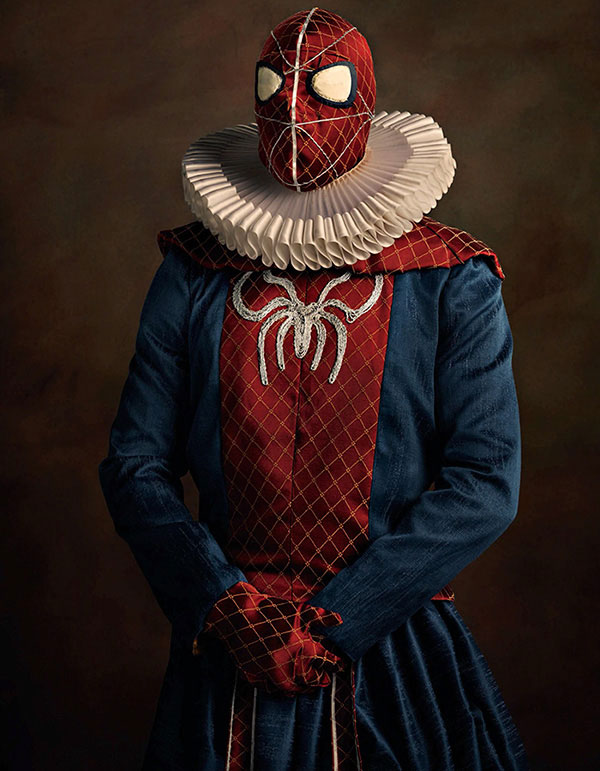 Flemish paintings of Spiderman