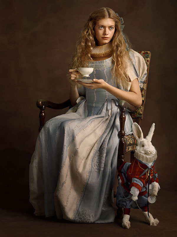 Flemish paintings of  Alice in Wonderland