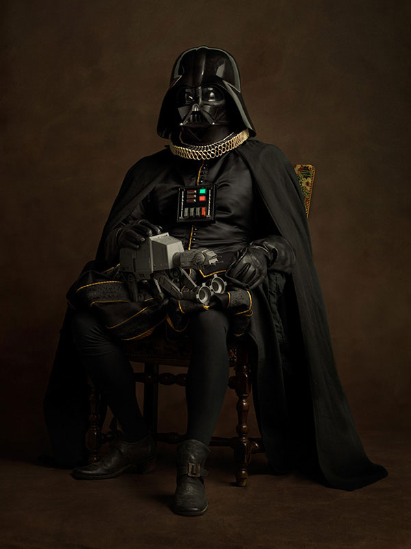 Flemish paintings of Darth Vader