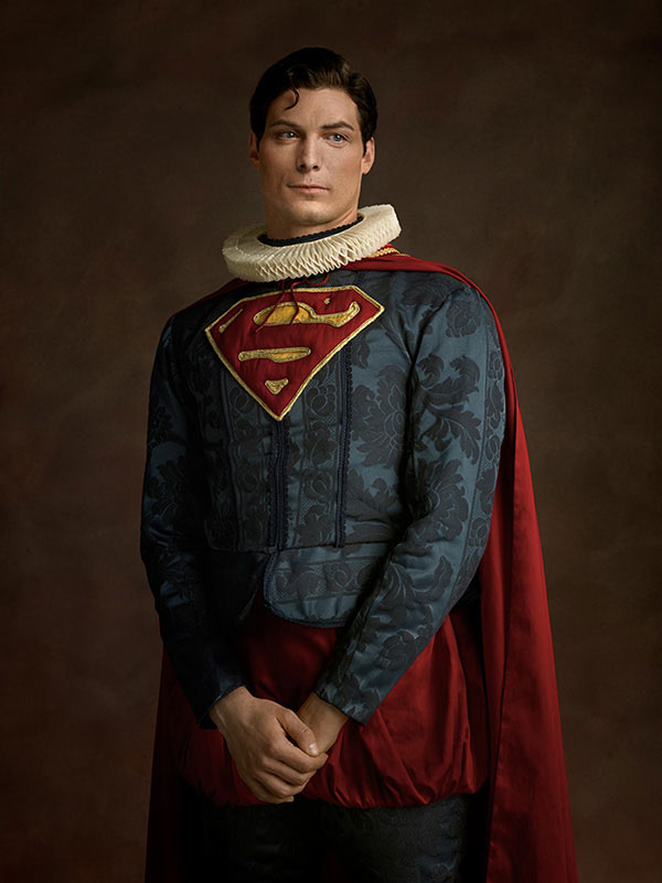 Flemish Paintings of Superman