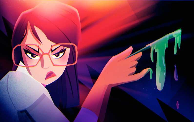 Creepy Fun Motion Graphics: Salon 3 Horror Stories