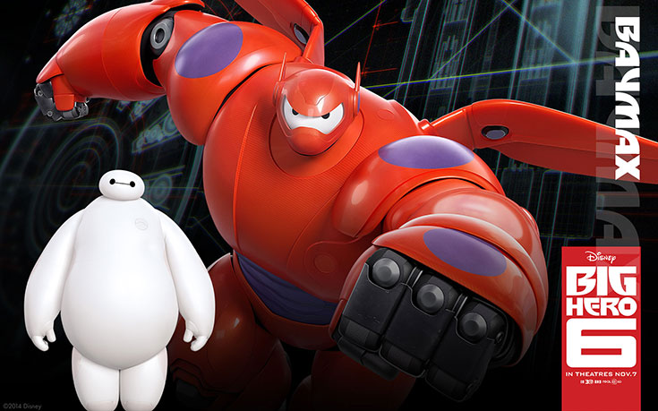 Official The Big Hero 6 Wallapers (2)