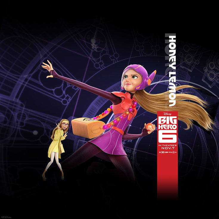 Official The Big Hero 6 Wallapers (4)