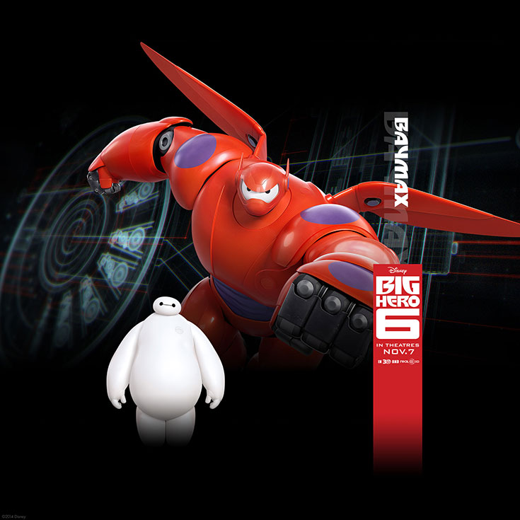 Official The Big Hero 6 Wallapers (8)