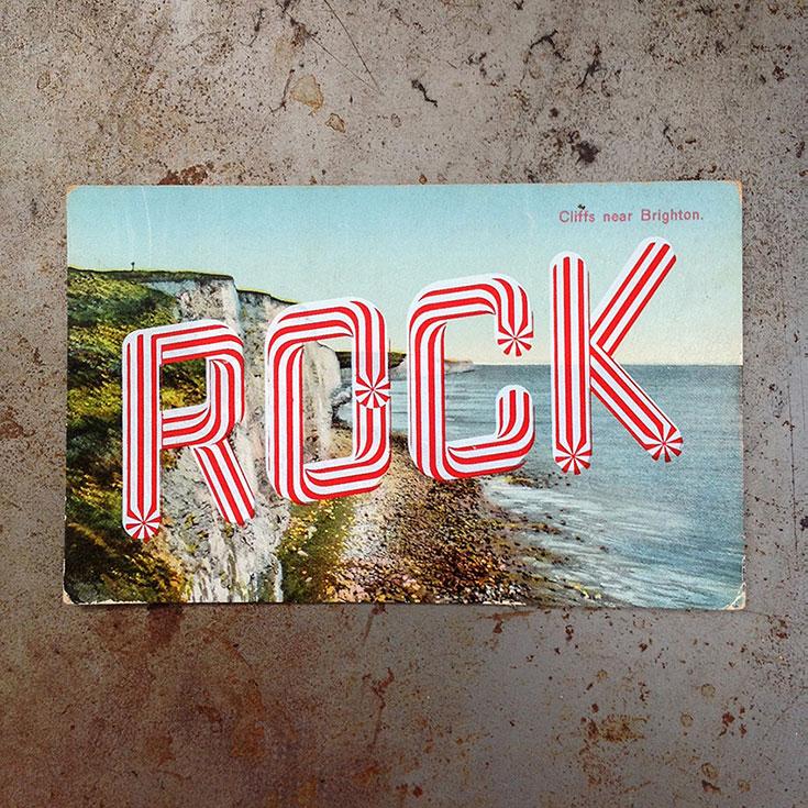 retro postcards for inspiration