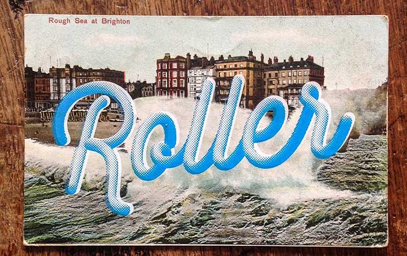 Pick Me Up Retro Postcards for Inspiration