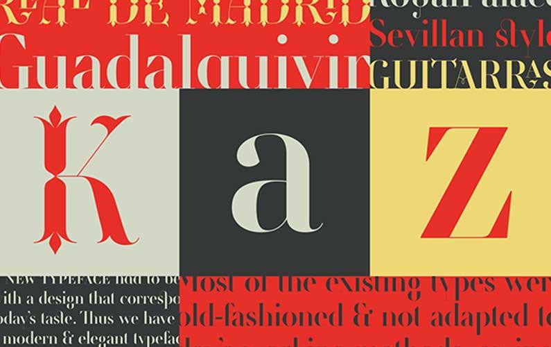 Spanish Typography Inspiration: Retiro Hispanic Didot