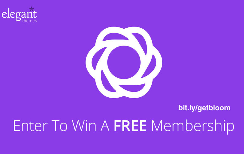 New Premium Email opt-in WordPress Plugin Giveaway – BLOOM