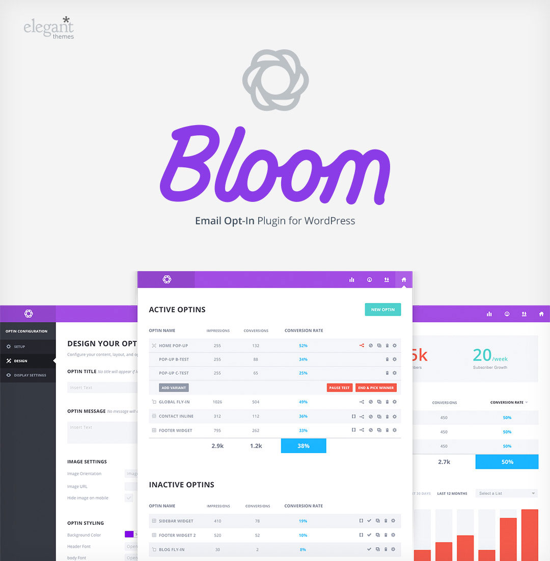 Bloom Dashboard Preview