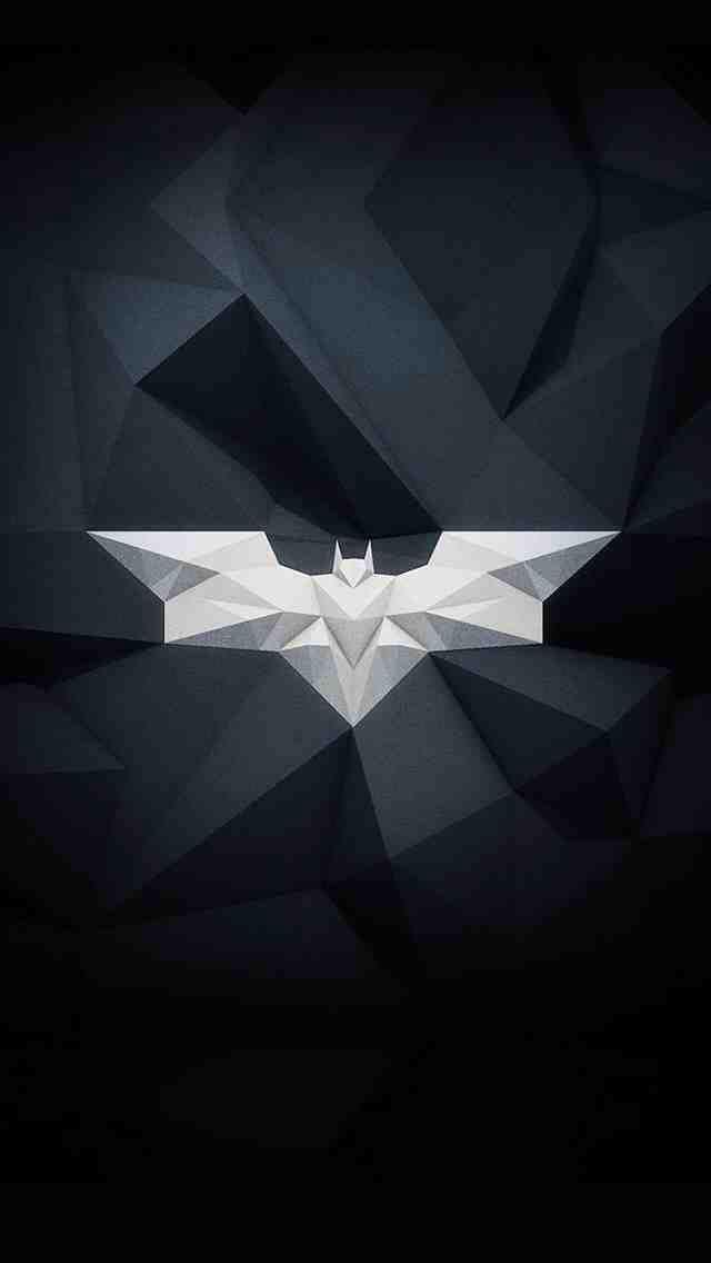 polygon batman logo