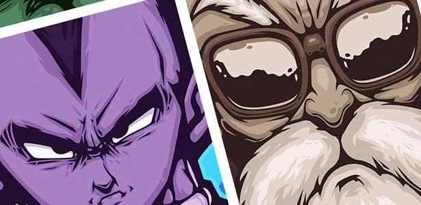 Vector Poster Design Inspiration – Dragon Ball Z