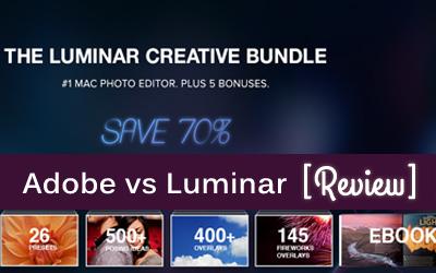 Luminar Vs Adobe Creative Cloud Subscriptions [Alternative Rival App]