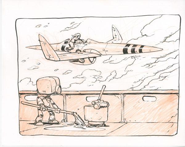 Drawings for Inktober