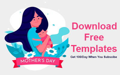 Download Free Templates for Mother's Day 2020 [Photoshop & Illustrator Files]
