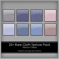 Freebie: 25+ Rare Cloth Texture pack