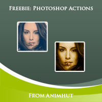 Freebie: 10 Photoshop Actions